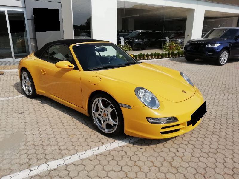 PORSCHE 911 Cabriolet Carrera S 91500km