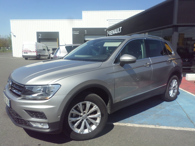VOLKSWAGEN Tiguan 2.0 TDI 150ch BlueMotion Technology Carat 4Motion DSG7 49600km