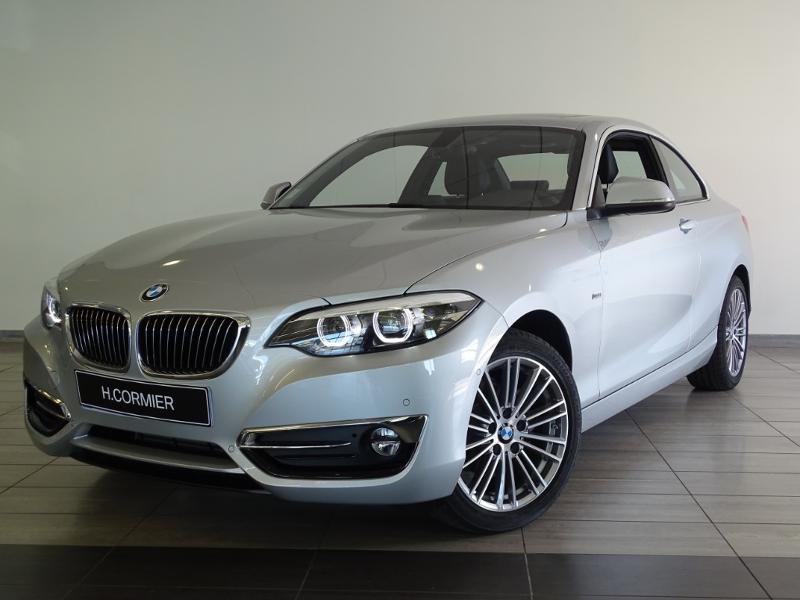 BMW Série 2 Coupé 218dA 150ch Luxury Euro6d-T 500km